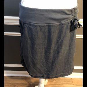 Athleta linen skirt